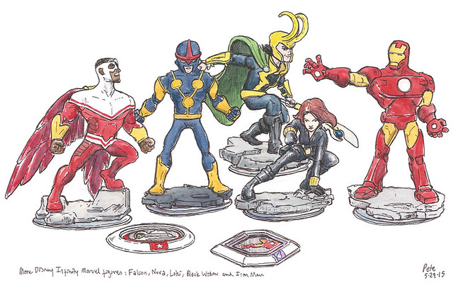 disney marvel infinity figures