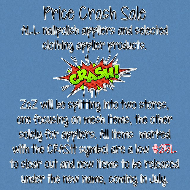Price Crash Sale