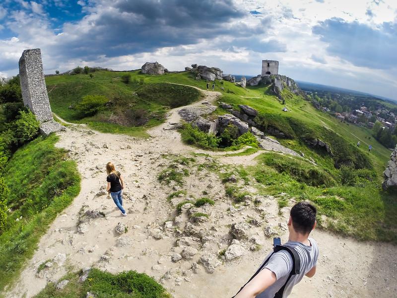 Selfie - Zamek Olsztyn - Góry Towarne