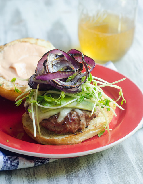 California-Style Turkey Burgers