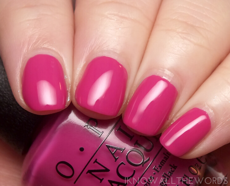 brights by opi 2015 the berry thought of you
