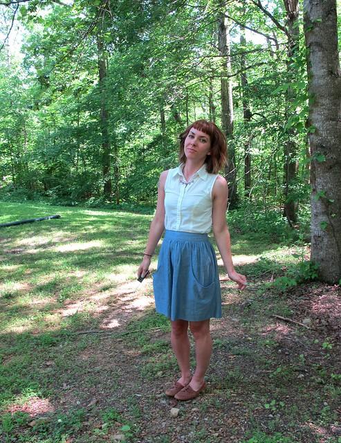 Brumby Skirt
