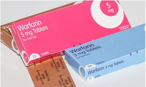 thuốc chống đông máu Warfarin