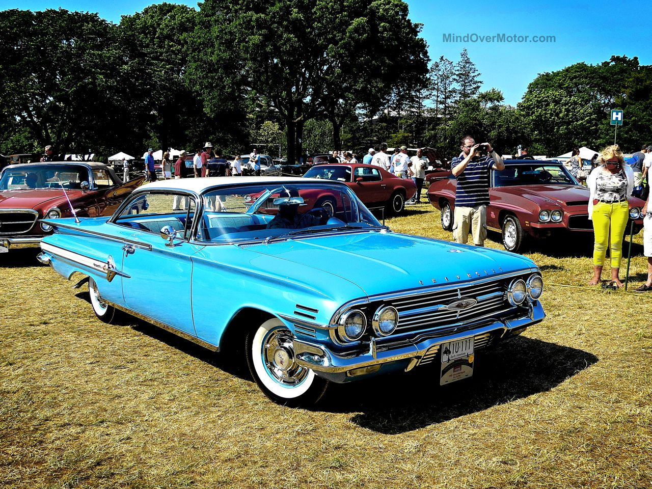 Greenwich Chevrolet Impala Blue