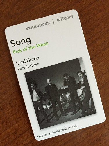 Starbucks iTunes Pick of the Week - Lord Huron - Fool For Love