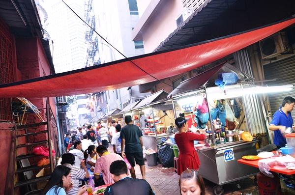 Meldrum Walk Food Street