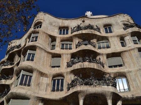 Obiective turistice Barcelona casa mila