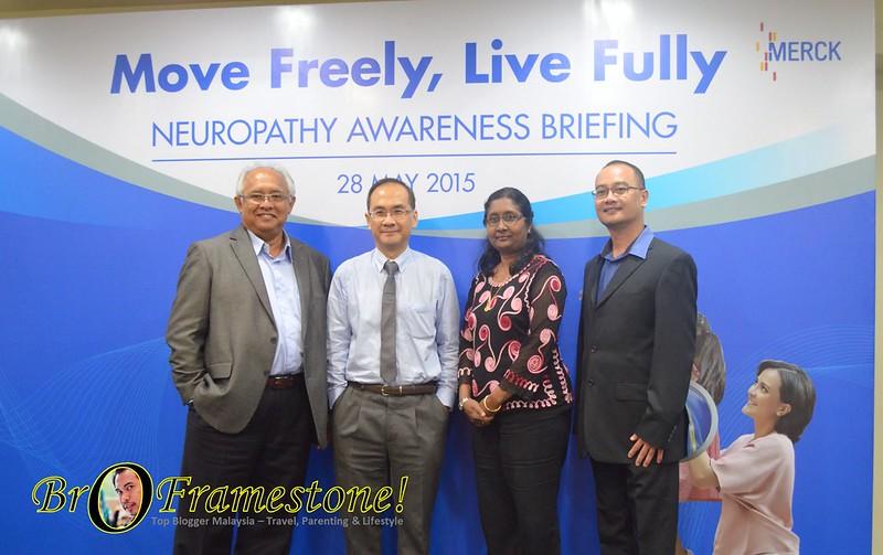 Merch Neuropathy Awarenes Briefing - Kerosakan Saraf Neuropati