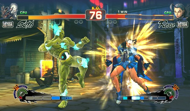 Ultra Street Fighter IV (PS4)