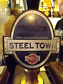 Consett Ale Works. Steel Town, England