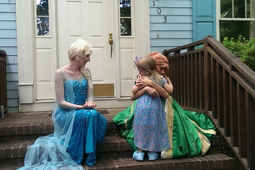 hugs with Anna