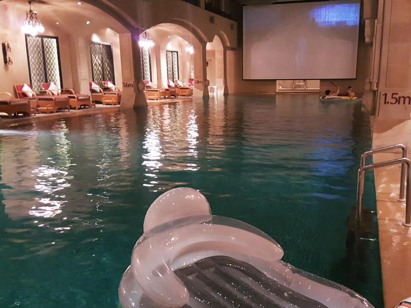 theatre pool Maya Hotel Beijing
