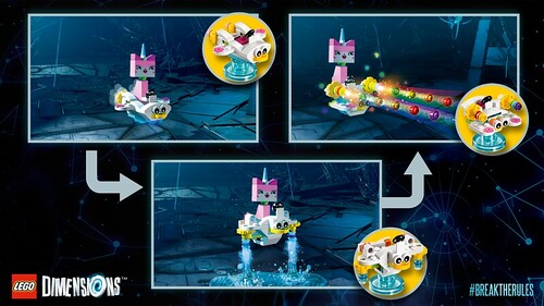 LEGO Dimensions The LEGO Movie Unikitty Fun Pack (71231)