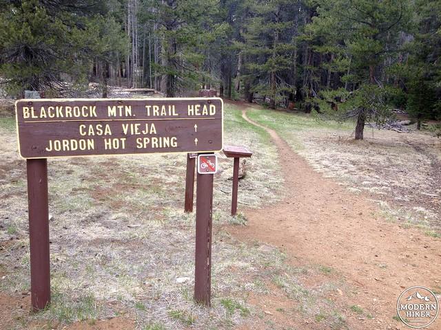 Jordan Hot Springs Trailhead
