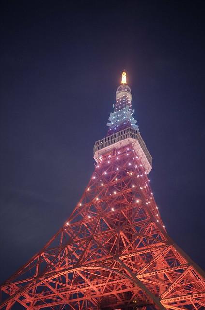 Tokyo Tower Rainbow Diamond Veil 15