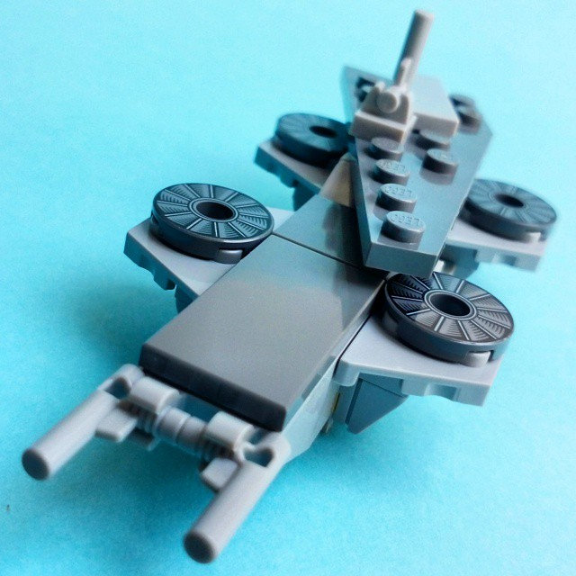Avengers - Mini SHIELD Helicarrier Turbine Upgrade