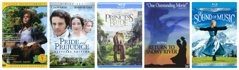 Five Favorite Movies @ Mt. Hope Chronicles