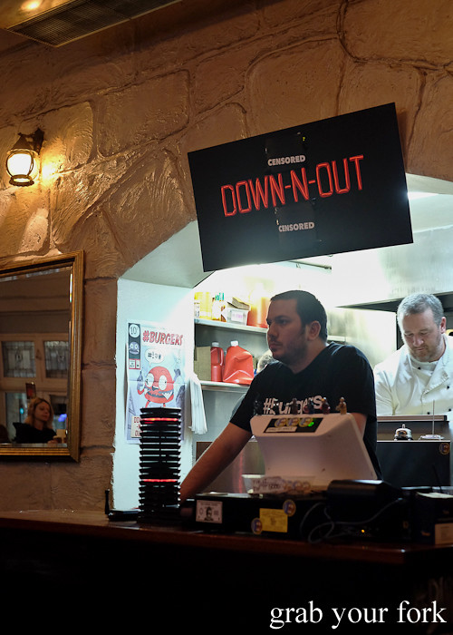 Down-N-Out at the Sir John Young Hotel, Sydney