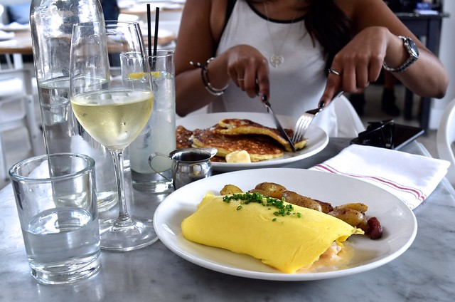 Weekend Brunch at Salt Air, Abbot Kinney Boulevard