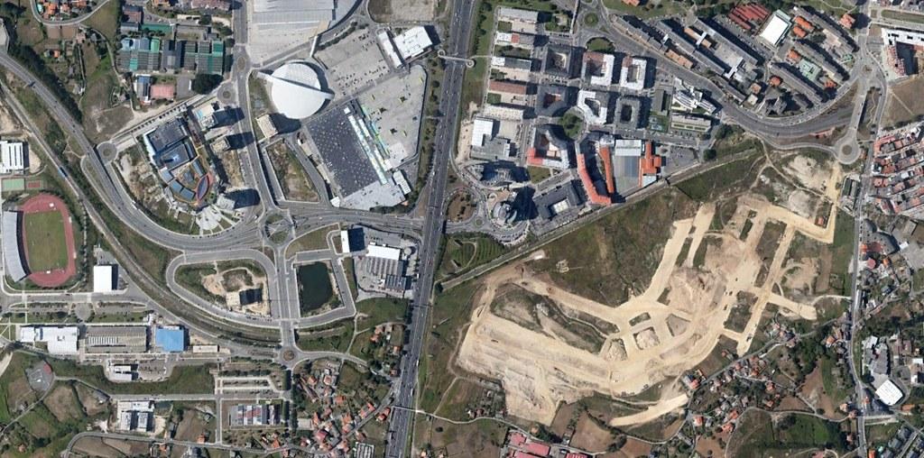 parque ofimático de a coruña, a coruña, parque infográfico, peticiones del oyente, después, urbanismo, planeamiento, urbano, desastre, urbanístico, construcción, rotondas, carretera