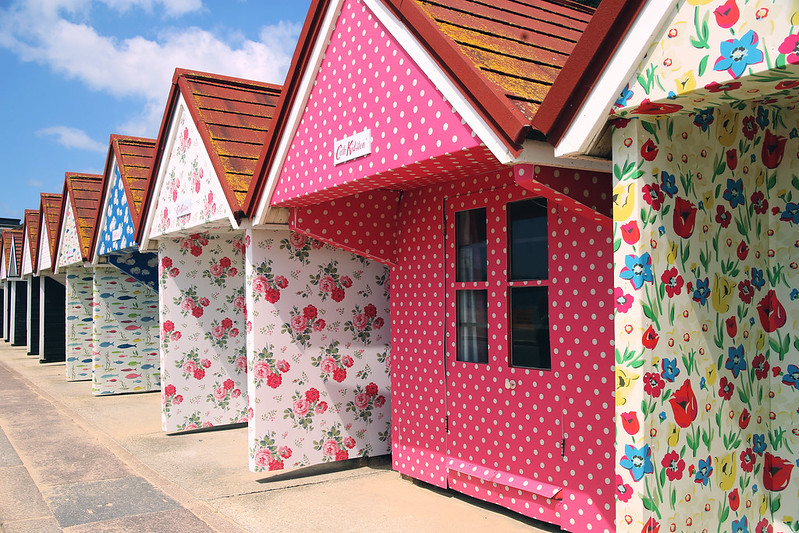 Cath Kidston beach huts