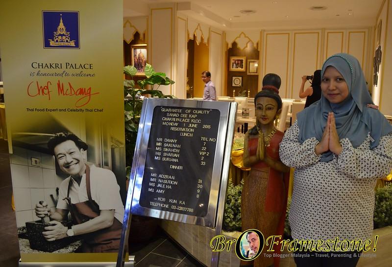 Berbuka Puasa di Imperial Chakri Palace, KLCC - Best Thai Food Restaurant