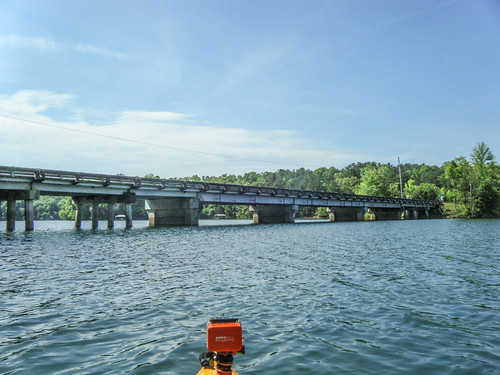 Lake Hartwell at Lawrence Bridge-89
