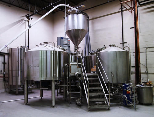 Brewhouse at Oliver Brewing
