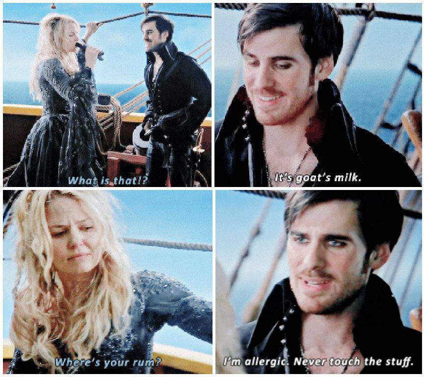 """once upon a time season 4 hook scenes Once upon a time favorite character moments: killian jones/captain hook if there was any other scene that matched the beauty of killian telling emma he traded his ship for her, it would be this moment equal in its purity, loveliness and meaning (season 4, episode 22 """"operation mongoose part 2""""."""