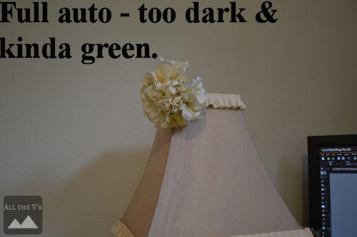 too dark on full auto