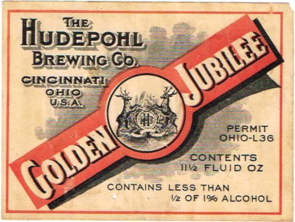 Golden-Jubilee-Labels-Hudepohl-Brewing-Company-Plant-1--Aka-of-Hudepohl-Brewing-Co
