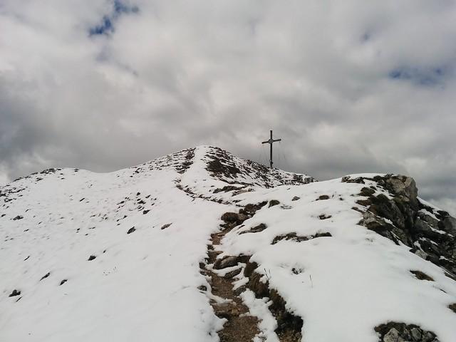 Gipfelkreuz Sarlkofel