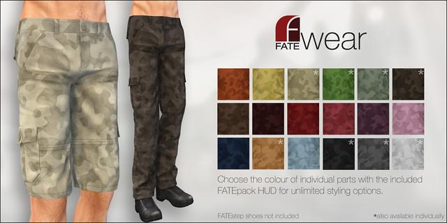 FATEwear - Pants+Shorts - Belo - FATEpack