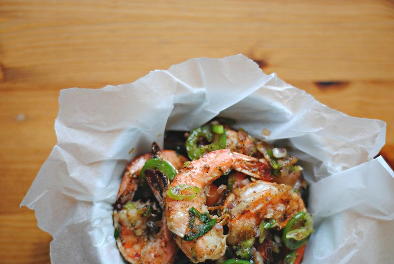Tôm Rang Muối - Salt & Pepper Shrimp