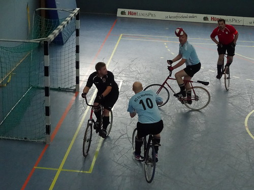 5-a-side cycle ball in Baunatal