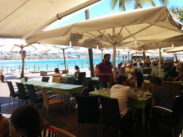 Las Palmas de Gran Canaria | La Oliva Restaurante | Terraza