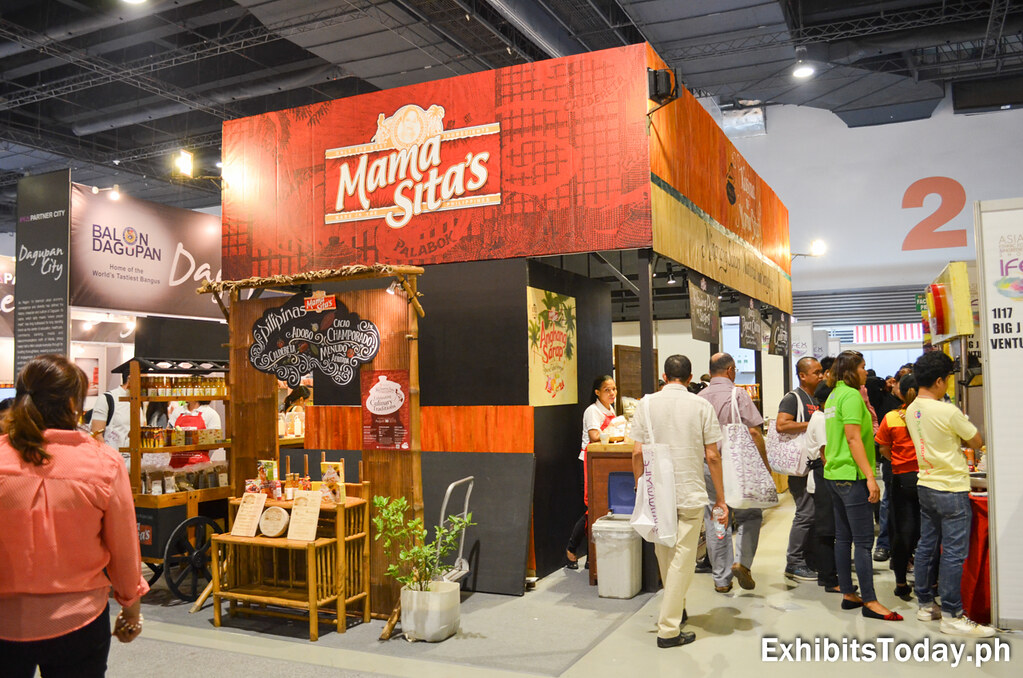Mama Sita's Trade Show Display