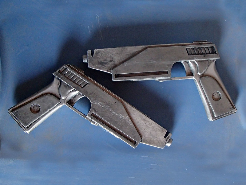 Finished Westar 35 Pistols