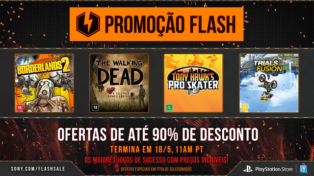 May Flash Sale - PlayStation Brasil