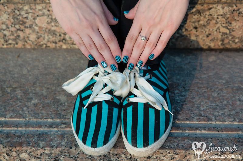 Novesta Popular Green nail art