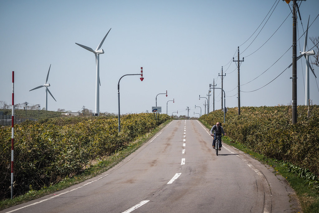 On route 523 to Kuromatsunai Hokkaido, Japan