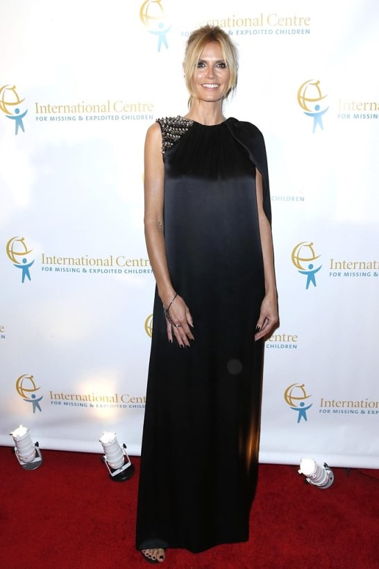 Heidi Klum==International Centre for Missing & Exploited Children's Inaugural Gala for Child Protection==Gotham Hall, NYC==May 07, 2015==©Patrick McMullan==Photo - Jimi Celeste/PatrickMcMullan.com== ==