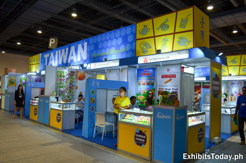 Taiwan Exhibit Booth