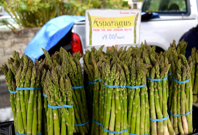 Asparagus at Venice Beach Farmers Market