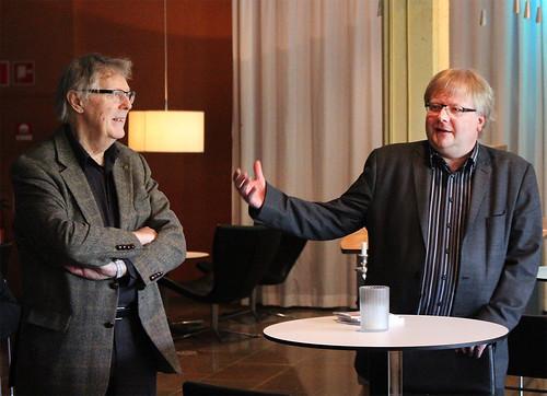 Bengt-Göran Sköld och Mats Jansson