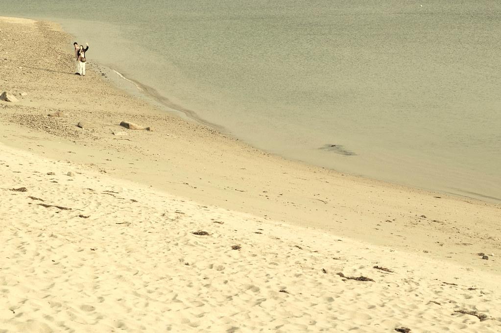 a couple|阿万海岸