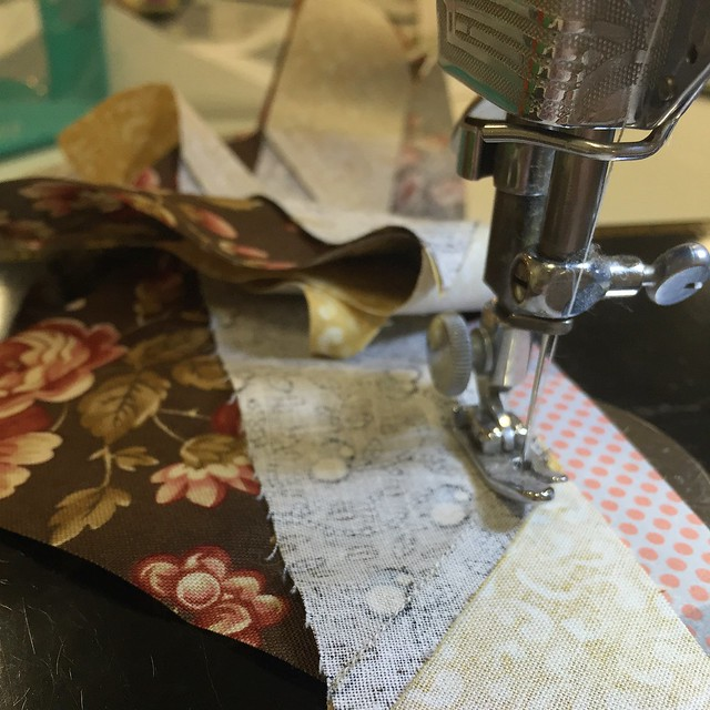 Featherweight sewing