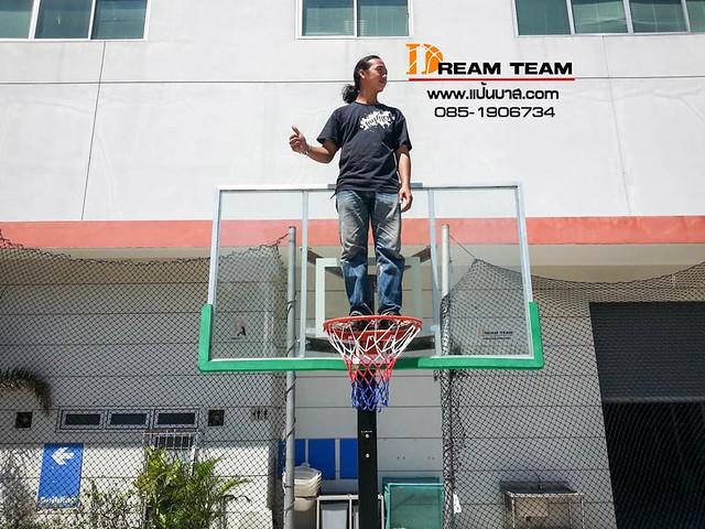 inground basketball pole