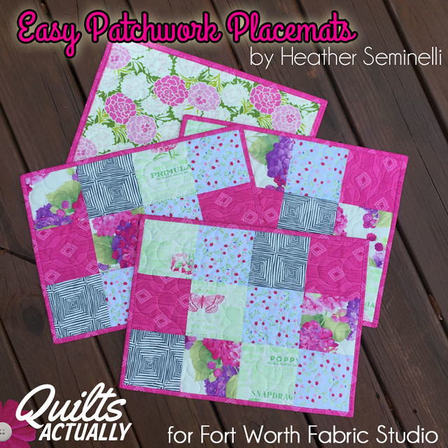 Patchwork Placemats square
