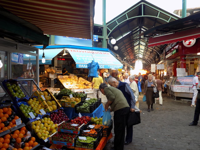 Kapani Market Thessaloniki Greece 3